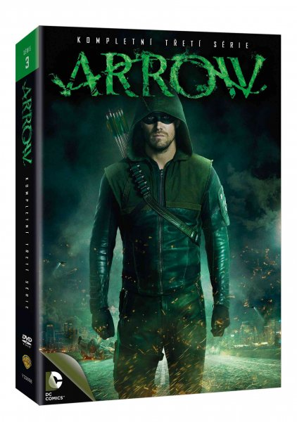 detail Arrow - 3. série - 5 DVD