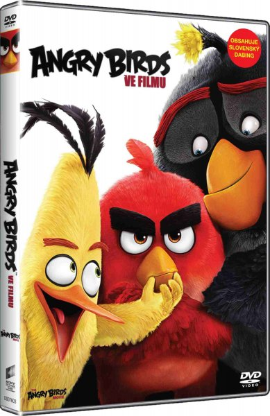 detail ANGRY BIRDS VE FILMU - DVD