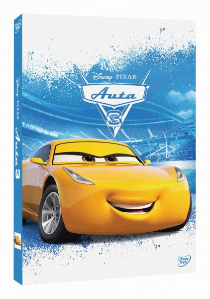 detail Auta 3 (Cars 3) - DVD