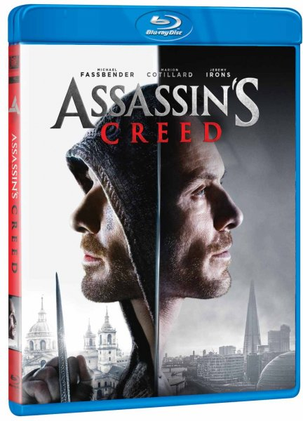 detail Assassins Creed - Blu-ray