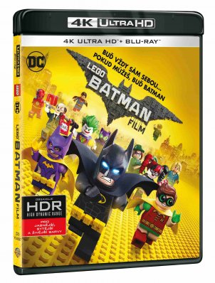LEGO Batman film (4K Ultra HD) - UHD Blu-ray + Blu-ray (2 BD)