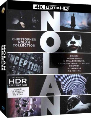 Christopher Nolan Collection (4K Ultra HD) - 7 UHD Blu-ray