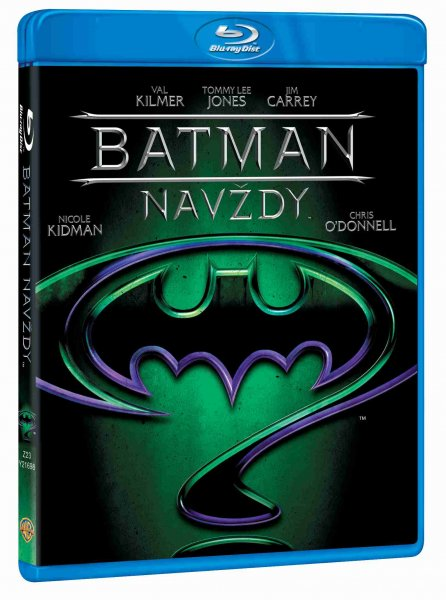 detail Batman navždy - Blu-ray