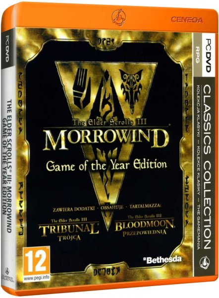 detail Elder Scrolls III: Morrowind Game of the Year - PC