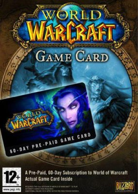 World of Warcraft 60 Day Game Card - PC