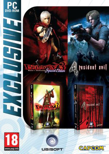 detail Devil May Cry 3 Special Edition + Resident Evil 4 zlatá edice - PC