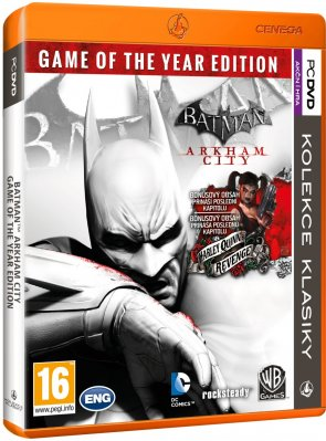 Batman: Arkham City - Game of the Year Edition - PC