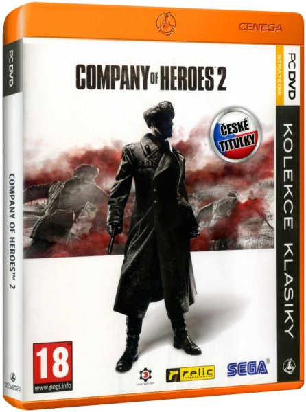 detail Company of Heroes 2 CZ - PC