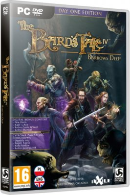 The Bard´s Tale IV: Barrows Deep - Day One Edition - PC