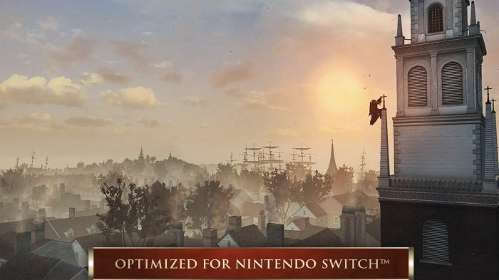 detail Assassin's Creed III: Remastered - Switch