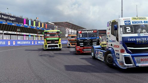 Nintendo Switch - FIA European Truck Racing Championship
