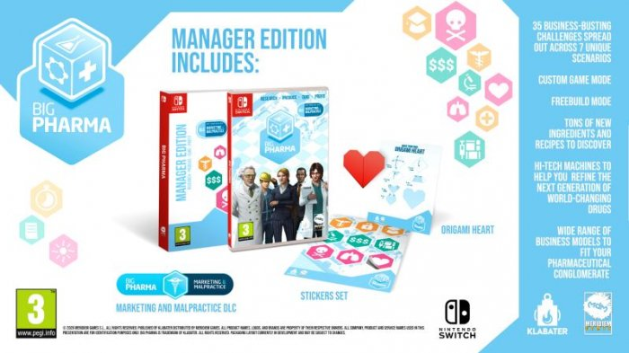 detail Big Pharma Manager Edition - Switch