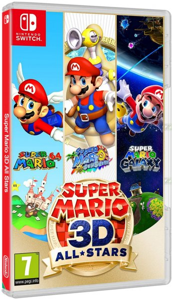 detail Super Mario 3D All Stars - Switch