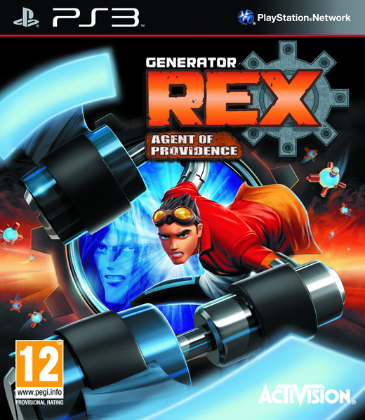 detail GENERATOR REX: AGENT OF PROVIDENCE - PS3
