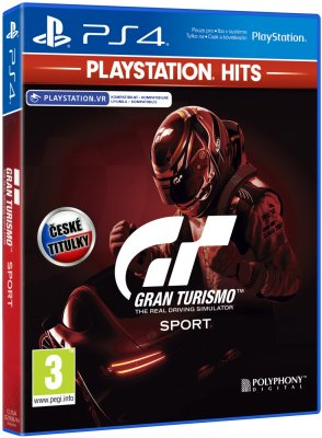 Gran Turismo Sport CZ (Playstation Hits) - PS4