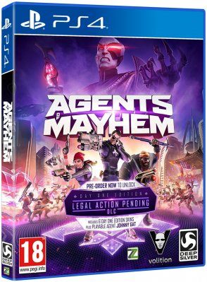 Agents of Mayhem (Day One Edition) - PS4