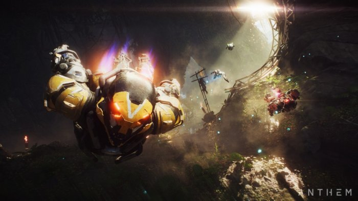 detail Anthem - PS4