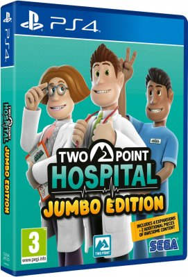 Two Point Hospital: Jumbo Edition - PS4