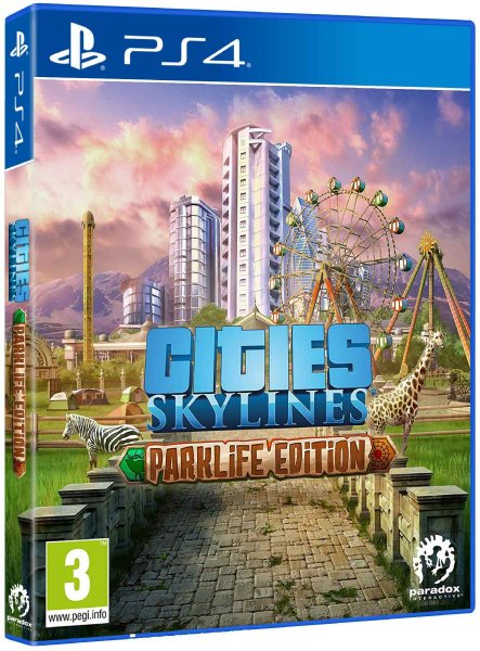 detail Cities Skylines: Parklife Edition - PS4