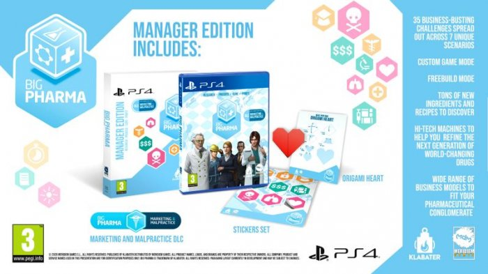 detail Big Pharma Manager Edition - PS4