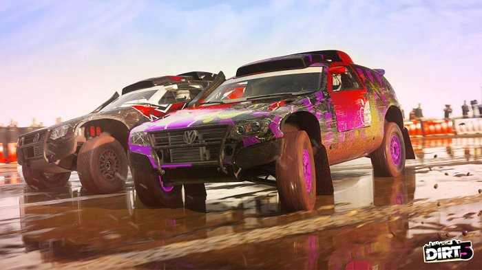 detail DiRT 5 - PS4