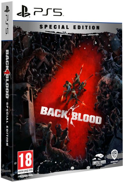 detail Back 4 Blood Special Edition D1 - PS5