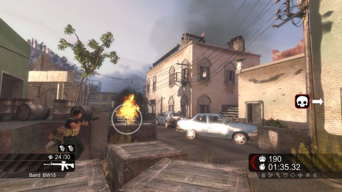 detail Blackwater - X360 KINECT