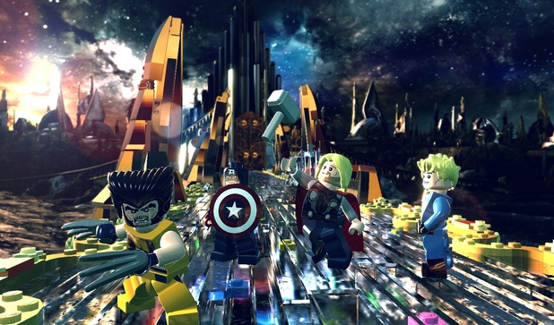 detail LEGO Marvel Super Heroes - Xbox One