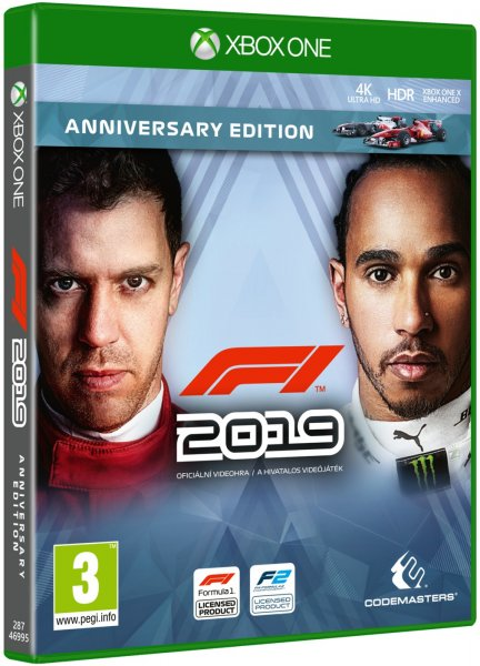 detail F1 2019 Anniversary Edition - Xbox One