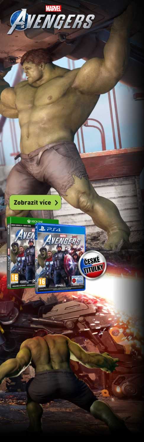 Marvel´s Avengers pro PS4 a Xbox One
